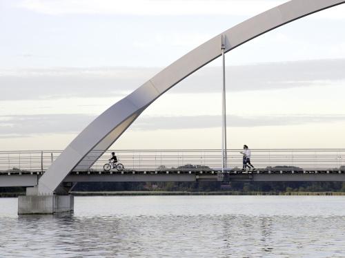 Sölvesborgsbron GC-Bro Gång- och Cykelbro Europas längsta