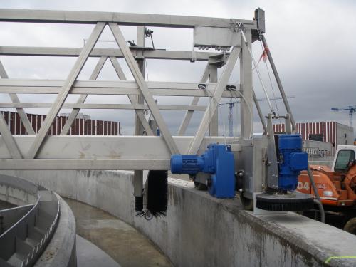 Skraparmar Processindustrin Vattenrening