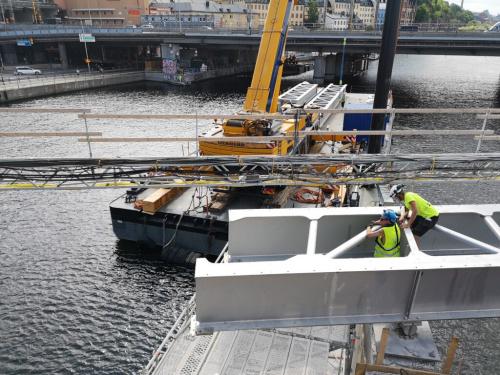 Slussen Söderströmsbroarna Duplex broar Ombyggnation